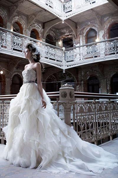 تصميمات فساتين افراح بنات الأردن 2016 , صور فساتين زفاف بنات الاردن 2016
