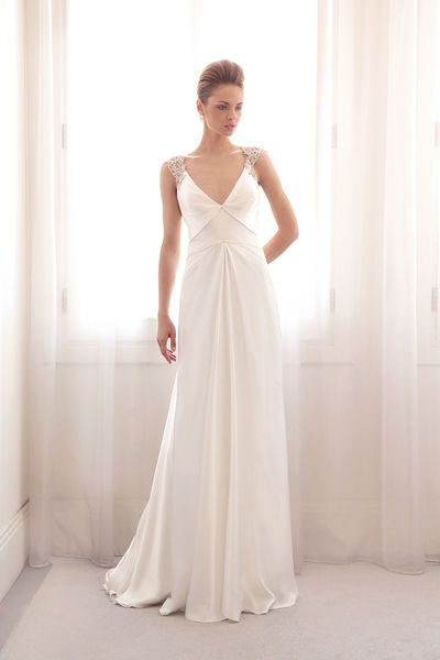 كولكشن فساتين زفاف لعام 2014 , أزياء فساتين افراح موضه 2014