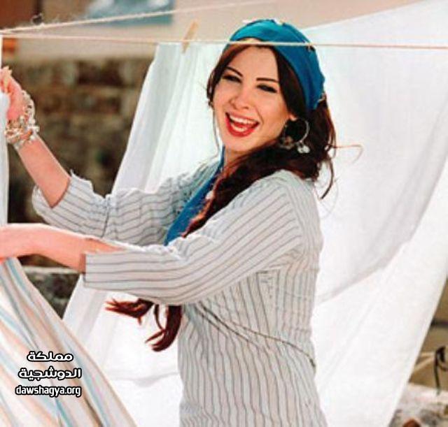 صور فنانات بالعبايات المصرية الشعبية , صور فنانات بجلابية البلدي 2014