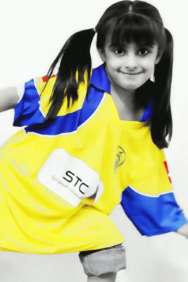صور بنات السعودية يشجعن نادي النصر للواتس اب والفيس بوك لعام 2014