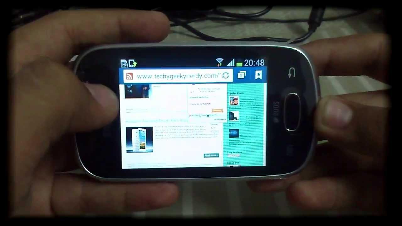 مواصفات ومميزات سامسونج جالكسي ستار تريوس Samsung Galaxy Star Trios