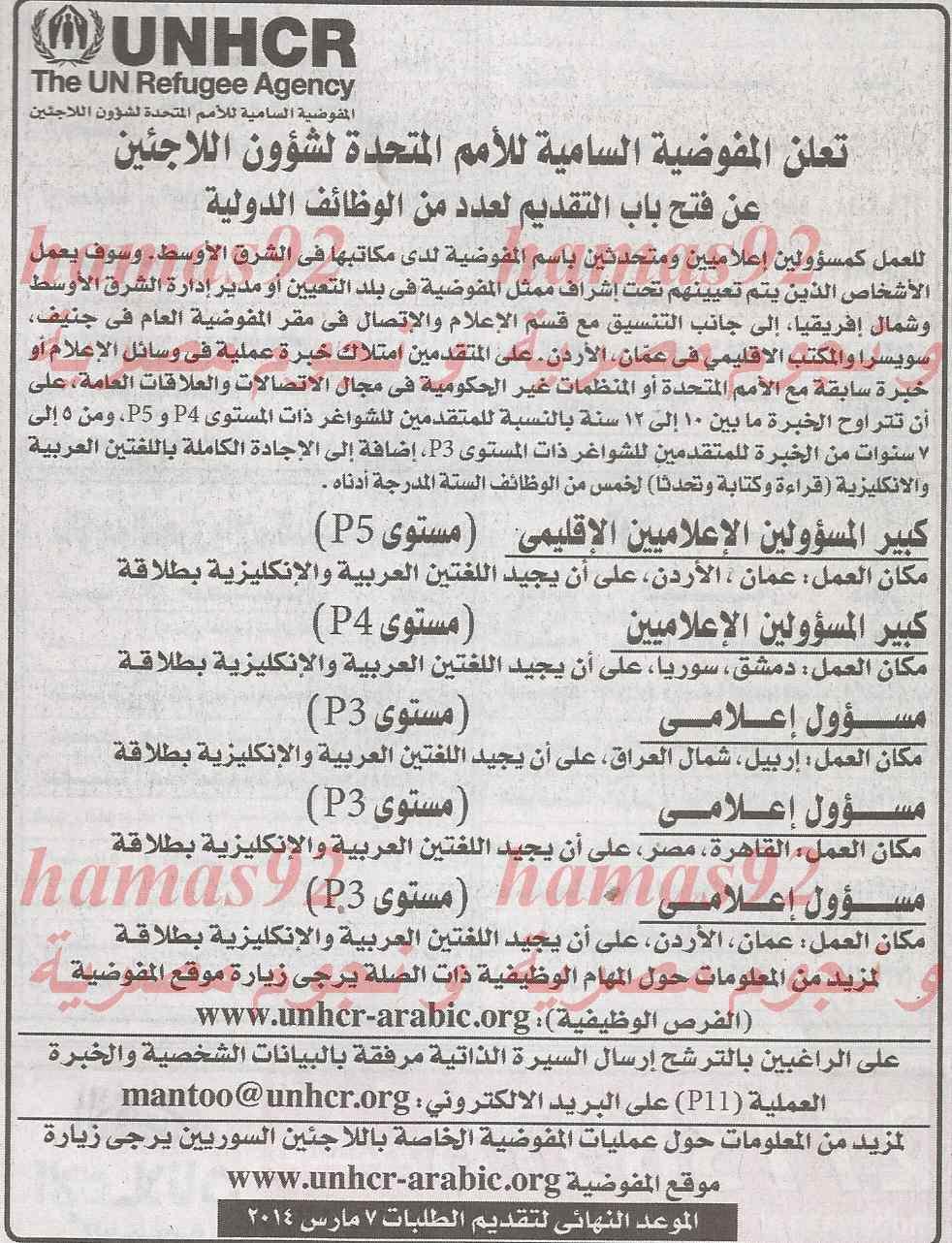 وظائف جريدة الاهرام اليوم الجمعة 28/2/2014 , وظائف خالية الاهرام اليوم 28 فبراير 2014