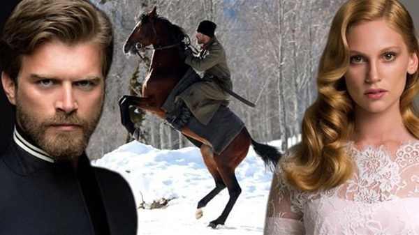 صور ابطال المسلسل التركي الذئب ليث ونورا , صور نجوم مسلسل كورت سيد وشوري - ليث ونورا