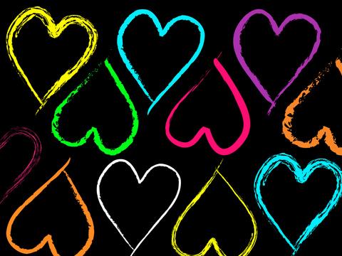 خلفيات بى بى قلوب 2014 , صور بلاك بيرى ملونة 2015 , خلفيات بلاك بيري حب 2015