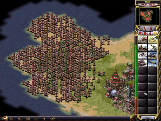 تحميل اللعبة الأستراتيجية Red Alert 2 على موقع فضائيات الأردن