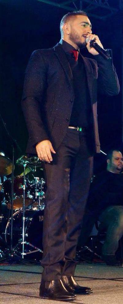 صور تامر حسني حفل غنائي بولاية تكساس الأمريكية 2014
