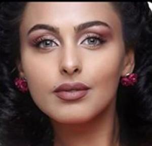 صور النجمة الأردنية ميس حمدان تسريحة شعر النيغرو من كواليس مسلسلها القادم في رمضان حب في الأربعين