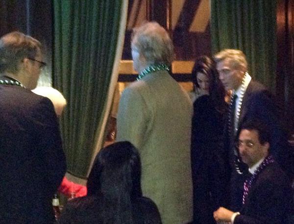 صور جورج كلوني والمحامية اللبنانية في لقاءات خاصة 2014