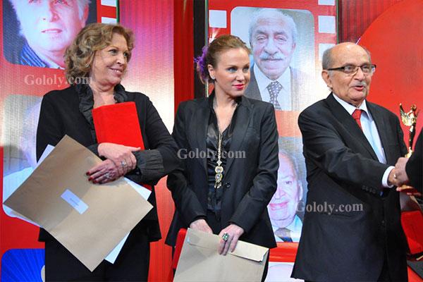 تكريم النجوم والنجمات في مهرجان المركز الكاثوليكي للسينما 2014
