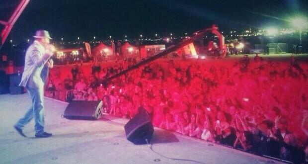 البوب ستار رامي عياش فى حفل جماهيري ضخم في كورنيش أبو ظبي 2014