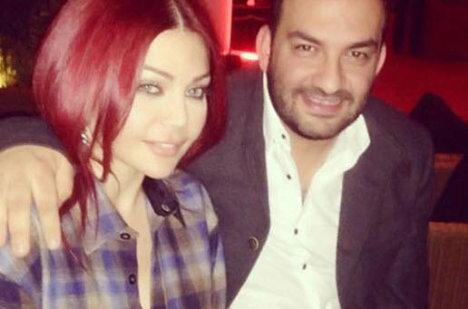 صور هيفاء وهبي بقميص رجالي ضيفة على برنامج هيدا حكي 2014