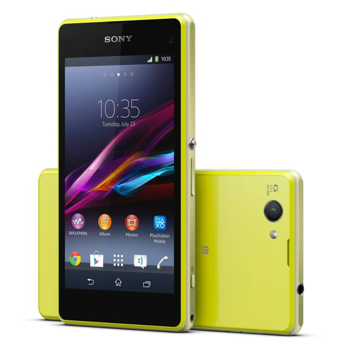 ����� � ������ Sony Xperia Z1 Compact