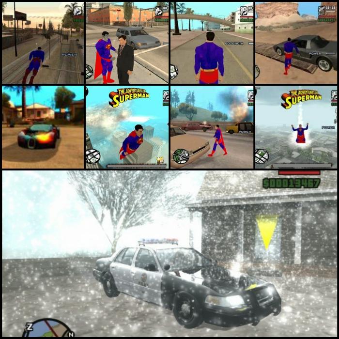تحميل لعبة جاتا سوبر مان GTA San Andreas Superman Mod , اجدد العاب الكمبيوتر 2014