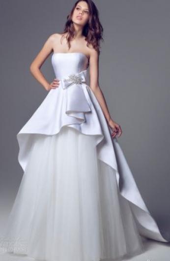 فساتين عروس خليجية راقية وناعمة , موديلات فساتين عرايس خليجية 2018