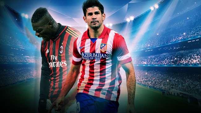 يوتيوب أهداف مباراة اتلتيكو مدريد و ميلان في دوري ابطال اوروبا مباراة الاياب 11-3-2014