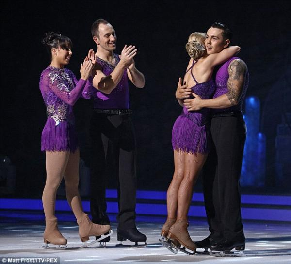 ��� ��� ���� ����� ������� ������� Dancing On Ice ����� ������ �� �����