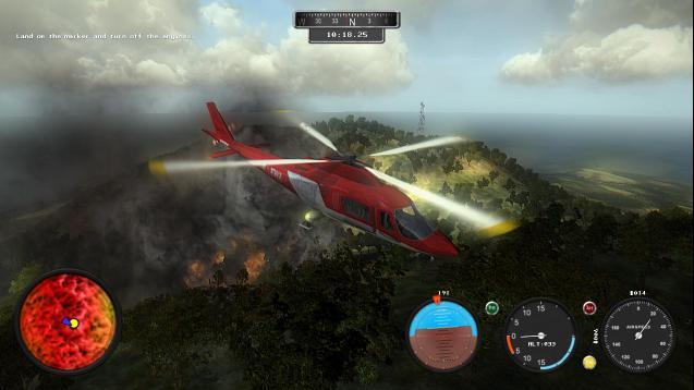 تحميل لعبة الطائرات والمهمات الجوية Helicopter Simulator Search and Rescue