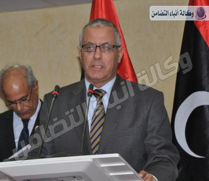 وكالة أنباء التضامن , المؤتمر الوطني العام يسحب الثقة من زيدان ب 124 صوتاً اليوم الثلاثاء11-3-2014