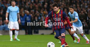 موعد مباراة برشلونة ومانشستر سيتي في مباراة الاياب ابطال اوروبا اليوم الاربعاء 12-3-2014