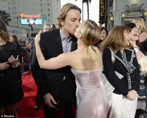 صور الممثلة الاميركية كريستين بيل العرض الأول لفيلمها Veronica Mars في لوس أنجلوس 2014