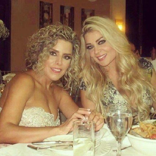 احتفال النجمة اللبنانية مادلين مطرب بعيد ميلاد صديقتها المقربة ميرو وسط اجواء احتفالية 2014