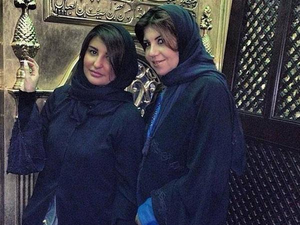 صور شذى حسون تقوم بزيارة بعض المعالم السياحية و مقام السيدة نفيسة فى مصر 2014