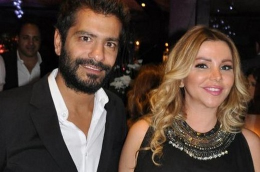 صور رزان برفقة زوجها ناجي 2014