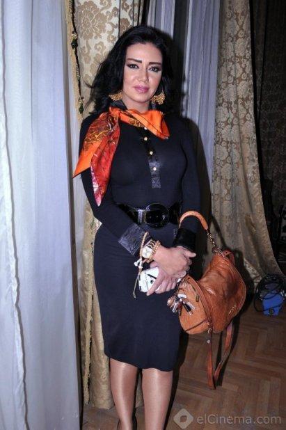 صور رانيا يوسف تحتفل ببداية تصوير مسلسل الصندوق الاسود 2014
