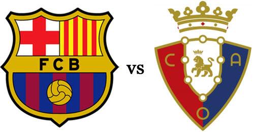 يوتيوب اهداف مباراة برشلونة واوساسونا اليوم الاحد 16-3-2014