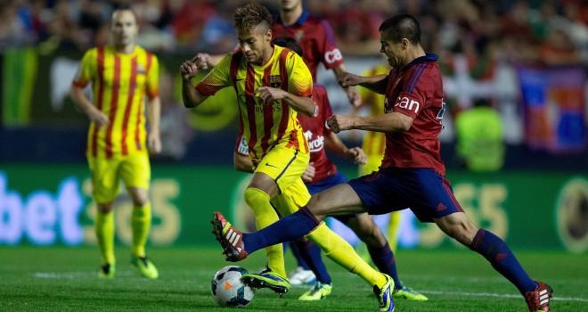 موعد مباراة برشلونة وأوساسونا في الدوري الاسباني يوم الاحد 16/3/2014