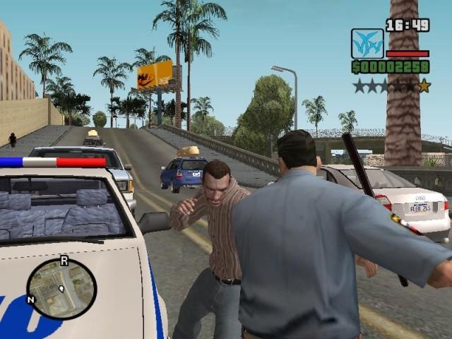 تحميل لعبة حرامي السيارات جاتا سان 2018/2019 GTA San Andreas Virtual World