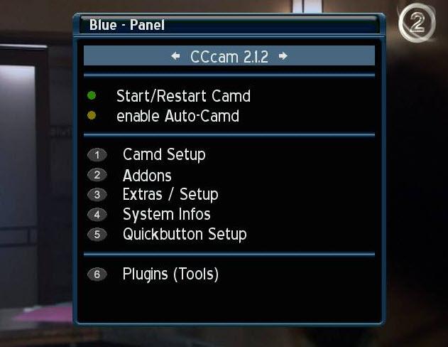 ���� ������� 420 ������ ���� ������� � ���� CCcam 2.1.2 �����