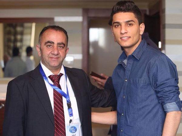 صور محمد عساف مع المتقدمين بفندق الجراند بارك رام فى القدس 2014