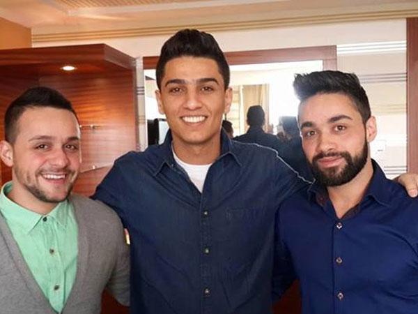 صور محمد عساف مالمشاركة في فعاليات تجارب الأداء للموسم الثالث من برنامج Arab Idol 2