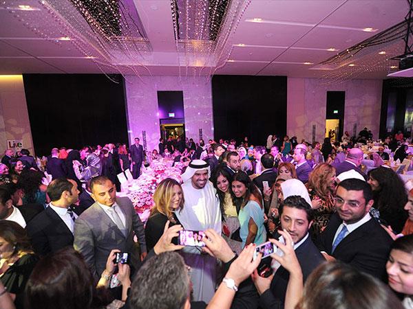 صور حسين الجسمي في الحفل الخيري السنوي لجمعية سيدات مصر 2014