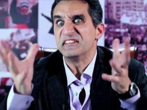 الحلقة السابعة من برنامج باسم يوسف الموسم الثالث اليوم الجمعة 21-3-2014