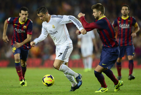 Clasico Barcelona vs Real Madrid Sun 03/23/2014 La Liga