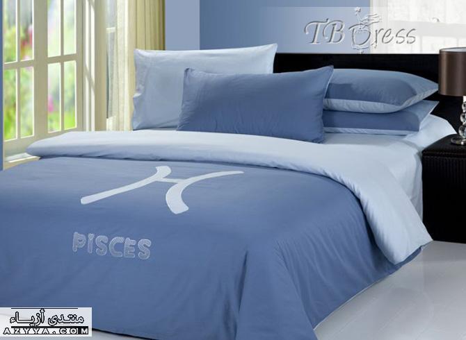صور اغطية سرير مصنوعة باليد , صور تصميمات اغطية سرير مصنوعة باليد 2015