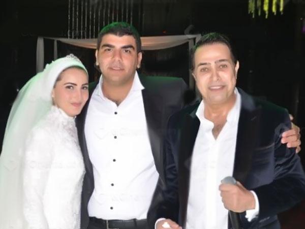 صور الفنان المصري أحمد بدير بزفاف ابنة شقيقته ميرهان 2014