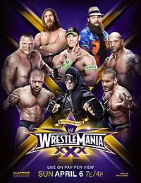 ����� ������ �������� WrestleMania 30 ����� 6 ����� ( ����� ) 2014