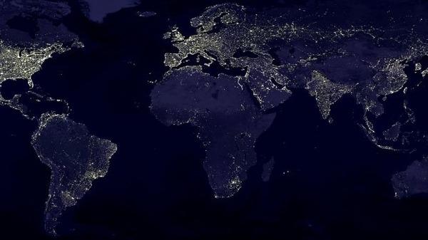 صور ساعة الارض اليوم السبت 29-3-2014 , الكهرباء تحتفي بساعة الارض 28-5-1435
