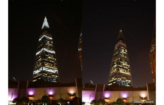 بالصور ساعة الأرض 2014 فى دبي برج خليفة والسعودية
