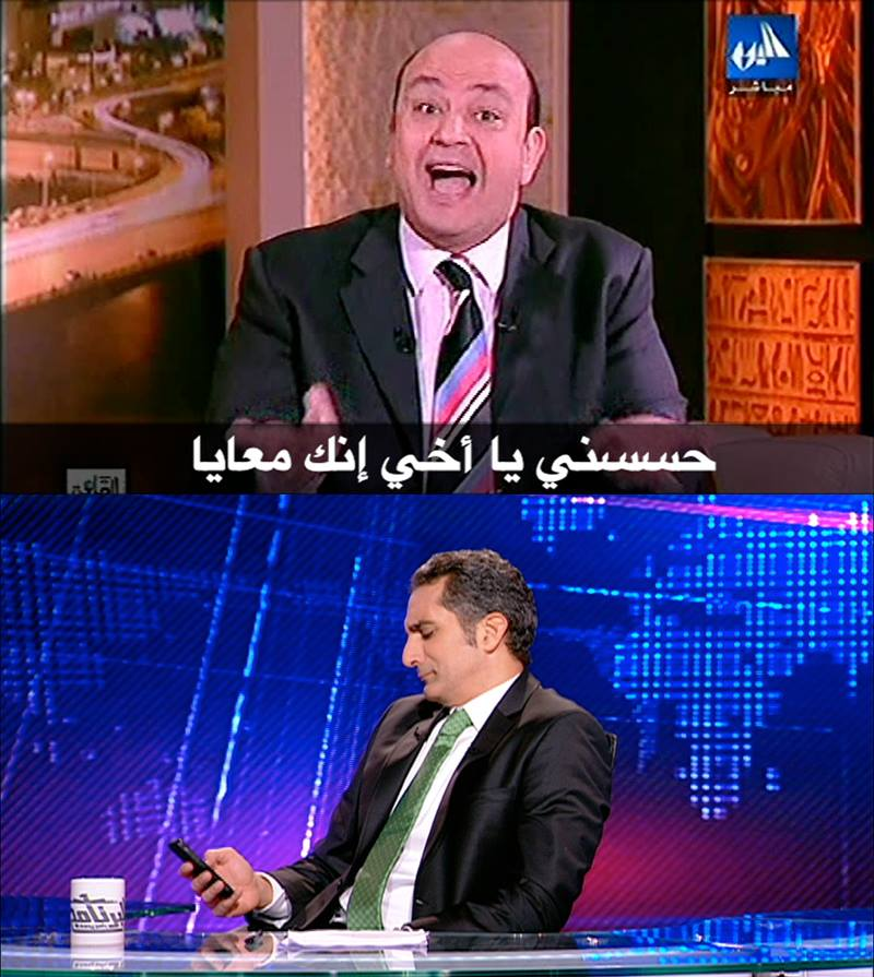 افيهات وكوميكسات باسم يوسف الحلقة الثامنة اليوم الجمعة 28-3-2014