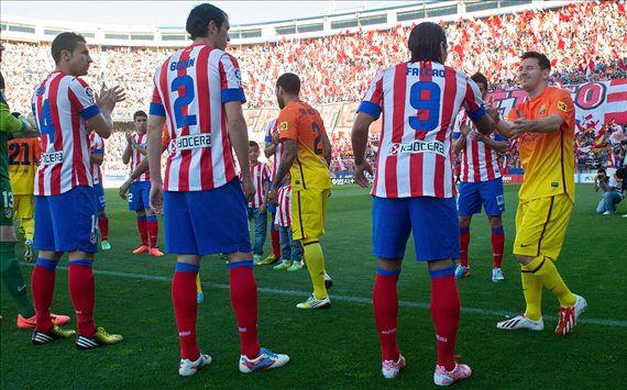 رابط مشاهدة مباراة برشلونة وأتلتيكو مدريد الثلاثاء 1 ابريل 2014