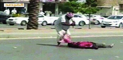 شرطة الرياض تقبض على أبو ملعقة , معلومات عن السعودي قاتل الهندي بحى السويدي 1435