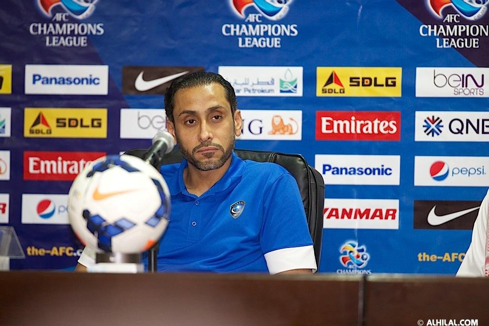 المؤتمر الصحفي للمدرب سامي الجابر قبل مباراة الهلال والسد الثلاثاء 1-4-2014