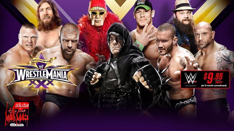 ���� ��� ������ �������� ������ Wrestlemania 2014 , ����� ��� ������ ��������� 30
