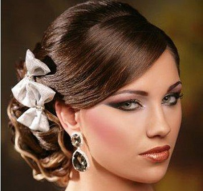 صور مكياج عرايس قمة الروعة 2014 , اجمل تسريحات للعروس 2014