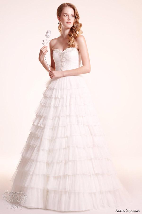 فساتين ملكية فاخرة للعروس،فساتين اليتا غرام للعروس