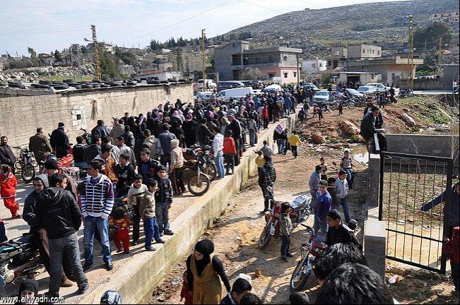 أخبار لبنان اليوم السبت 5-4-2014 , ربع التعداد السكاني في لبنان من اللاجئين السوريين